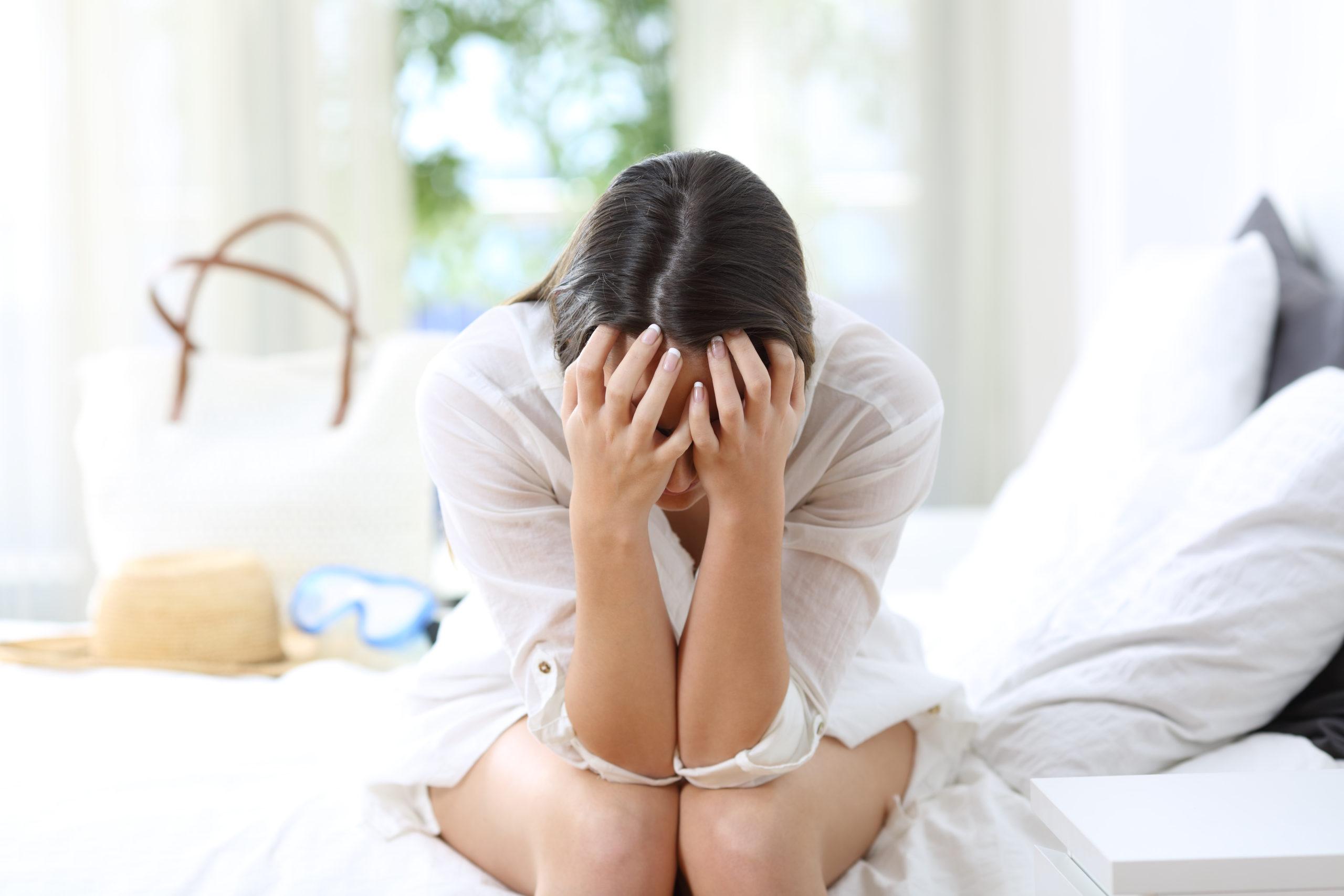 front-view-portrait-sad-woman-complaining-1065008678