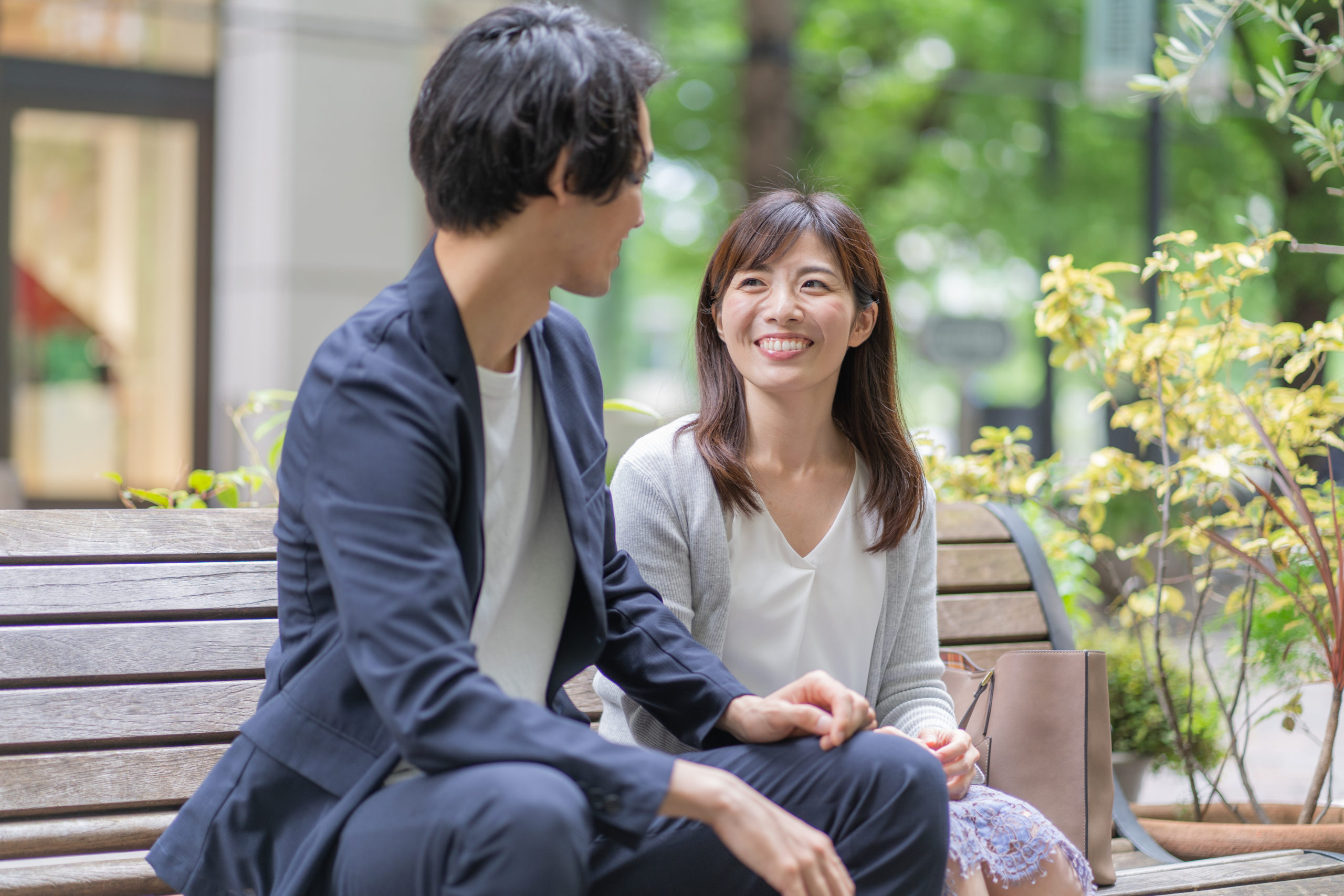 Good,Friend,Asian,Couple,Portrait