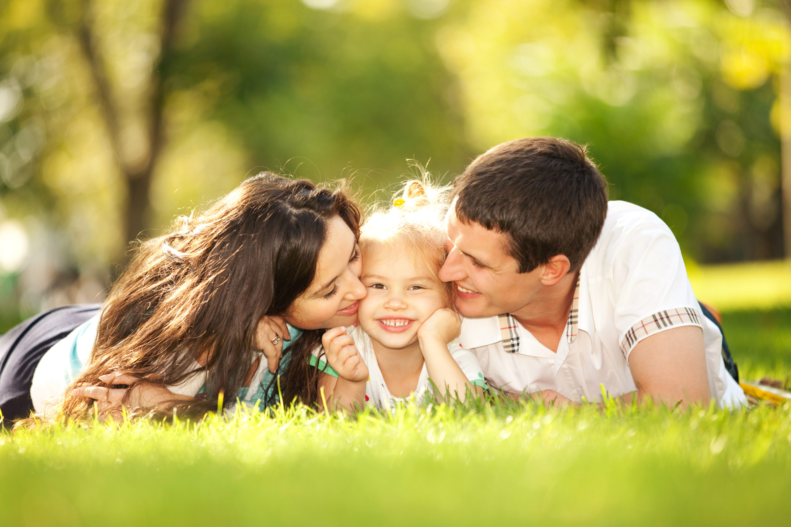 Happiness,And,Harmony,In,Family,Life.,Happy,Family,Concept.,Young