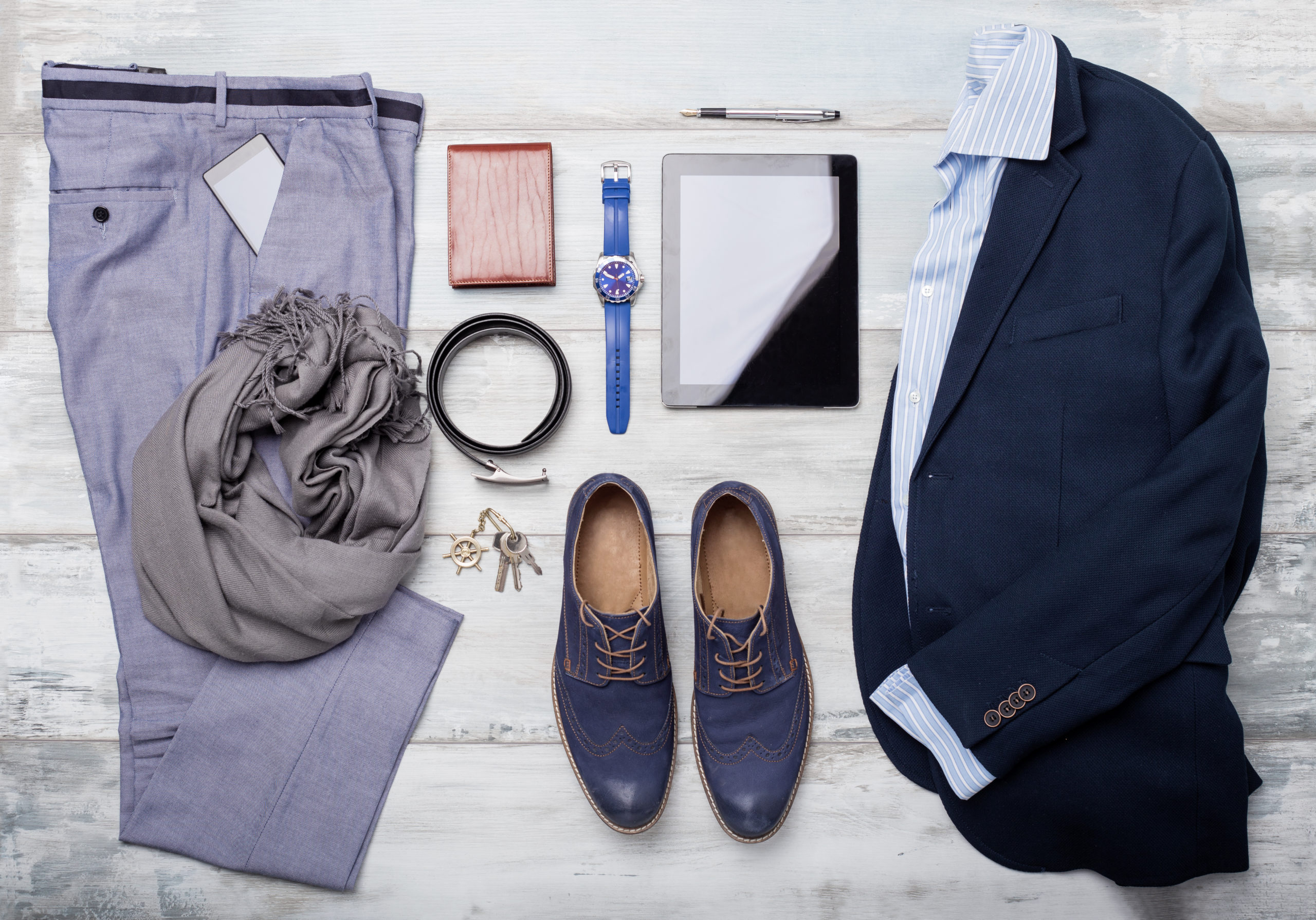 Set,Of,Mans,Fashion,And,Accessories
